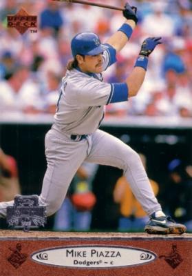 Mike Piazza 1996 Upper Deck All-Star Game jumbo card