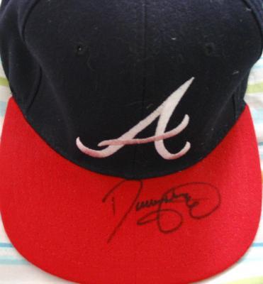 Denny Neagle autographed Atlanta Braves replica cap