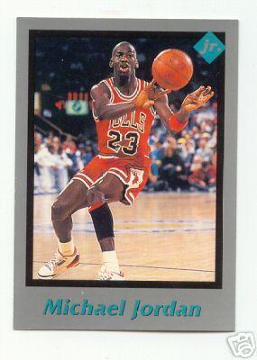 Michael Jordan Chicago Bulls 1991 Tuff Stuff Jr. card