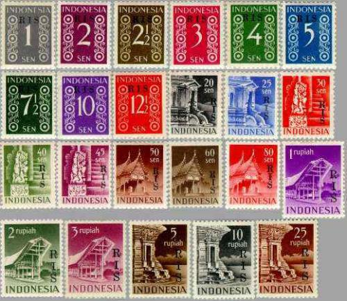 RIS Overprints 23v; Year: 1950