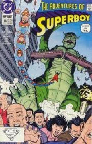 Comics; Superboy (1990-1992) DC Comics