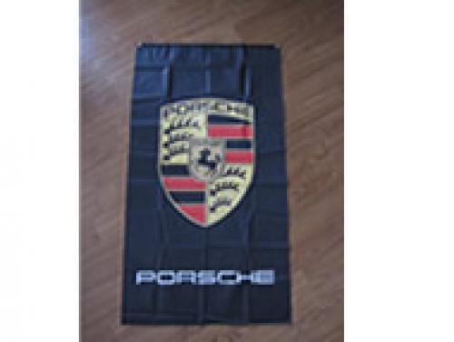 Porsche flag banner