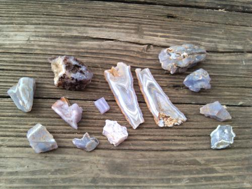 Holley Blue Agates