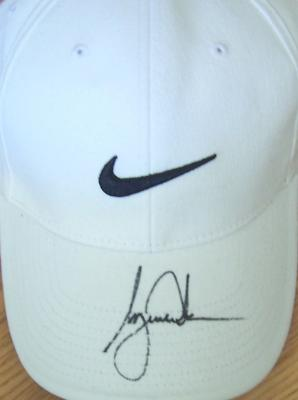 Tiger Woods autographed Nike golf cap