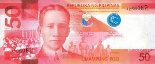Banknotes; new Banknotes of the Philippine Peso; 50 Pesos