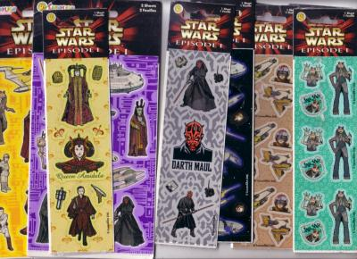 Star Wars Episode I The Phantom Menace decal or sticker set