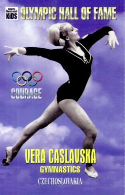 Vera Caslavska Olympic Hall of Fame Sports Illustrated for Kids card