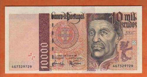 Portugal 10.000esc 1997