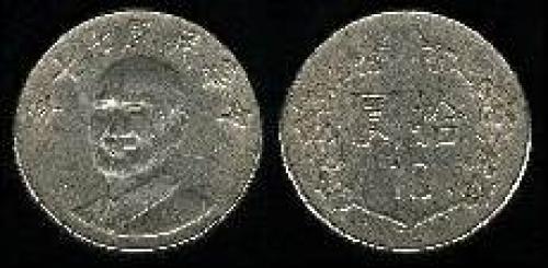 10 yuan; Year: 1981-1993; (km y#553)