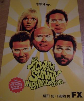 It's Always Sunny in Philadelphia 2010 promo poster