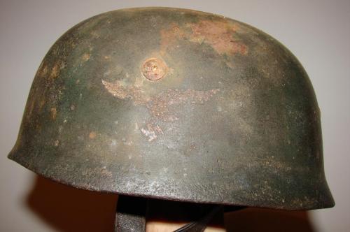 Original WW2 Fallschirmjager M38 Helmet