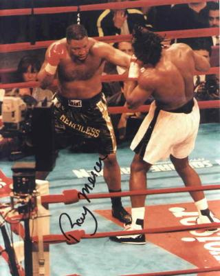 Ray Mercer autographed 8x10 boxing photo
