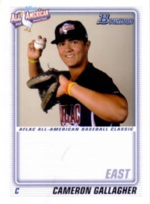 Cameron Gallagher 2010 AFLAC Bowman Rookie Card