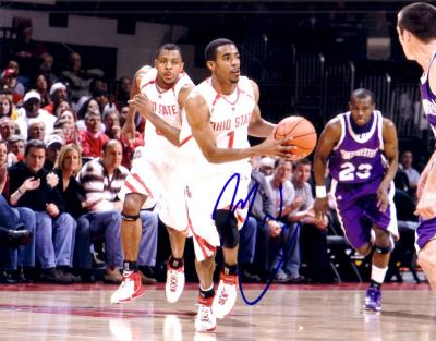 Mike Conley Jr. autographed Ohio State 8x10 photo