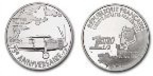 15 euros; Year: 2002; Spirit of St. Louis