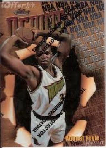 Basketball Card; 1997-98 Finest #108 Adonal Foyle B (Basketball Card)Warriors