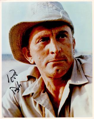 Kirk Douglas autographed 8x10 photo