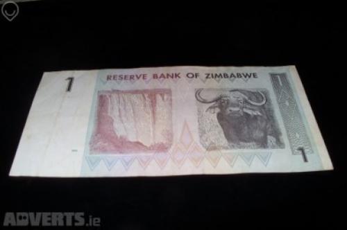 Zimbabwe 1 Dollar 2007