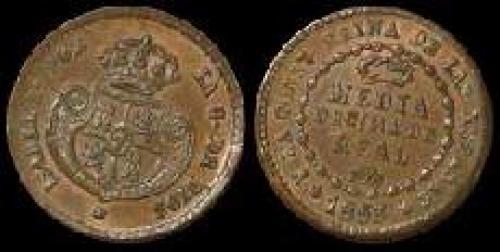 0,0005 Real 1852-1853 (km 597)