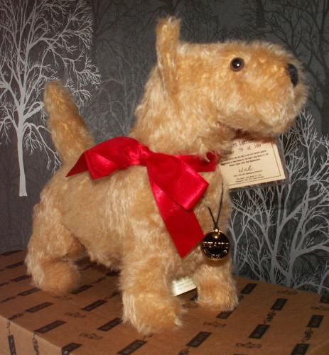 DEANS Limited Edition Mohair Cairn Terrier