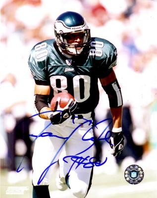 James Thrash autographed 8x10 Philadelphia Eagles photo