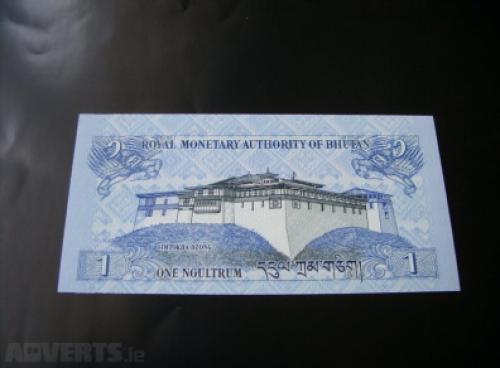 Bhutan 1 Ngultrums 2006