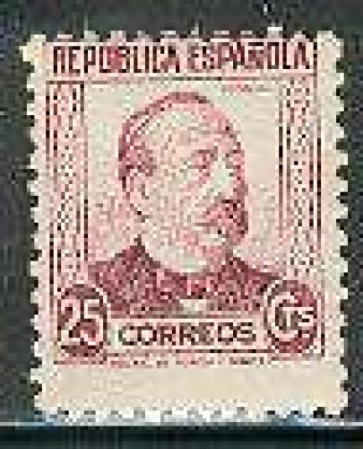 Manuel Ruiz Zorilla 1v; Year Issue: 1933; Spain Stamp