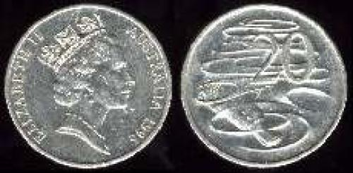 20 cents; Year: 1985-1998; (km 82)