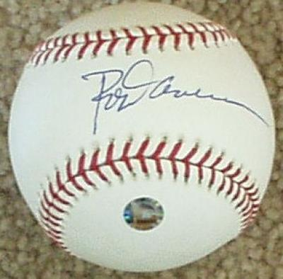 Rod Carew autographed MLB baseball