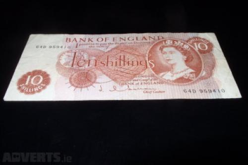 Great Britain 10 shillings 1960/7