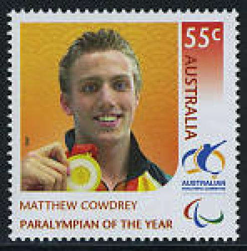 Matthew Cowdrey, Paralympian of the year 1v