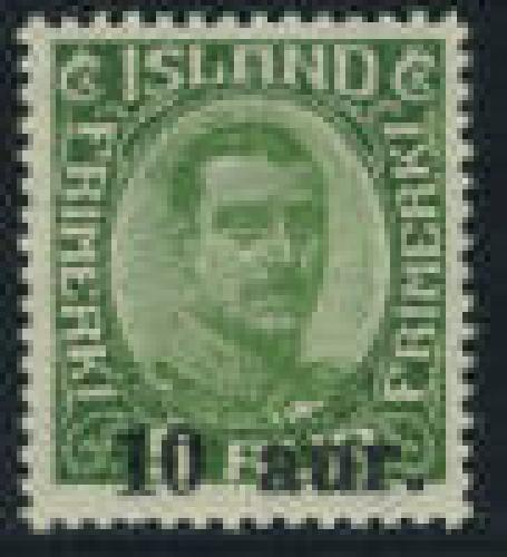 Overprint 1v; Year: 1922