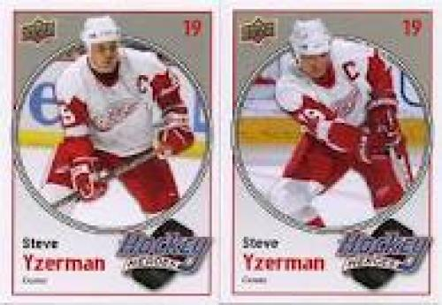 Hockey Card; Steve Yzerman #19