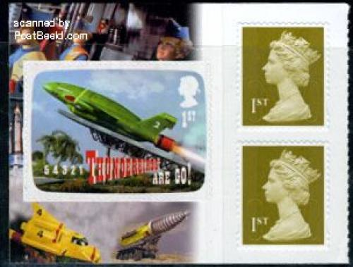 Thunderbirds booklet pane s-a