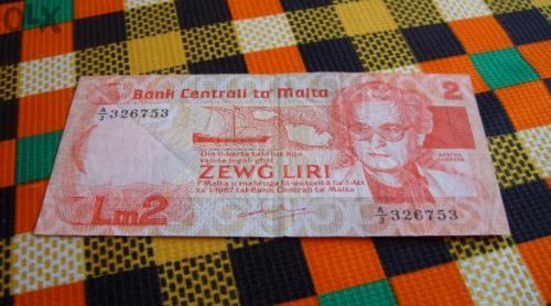 Malta-1967/86 г 2 liras / £
