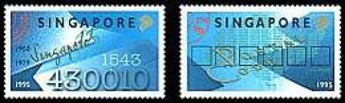 Postal codes 2v; Year: 1995