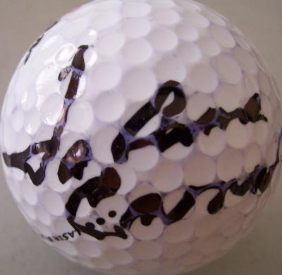 JoAnne Carner autographed golf ball