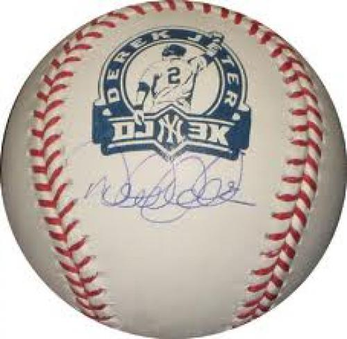 Derek Jeter Autograph Sports Memorabilia
