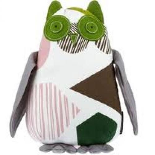 Toys; DwellStudio Stuffed Animal Plush Toy, Owl