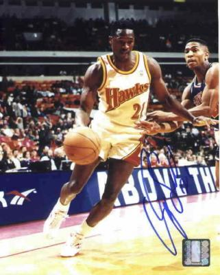 Dominique Wilkins autographed Atlanta Hawks 8x10 photo