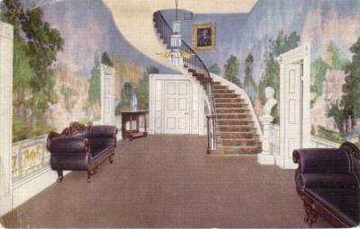 Hermitage (President Andrew Jackson's Home) vintage postcard