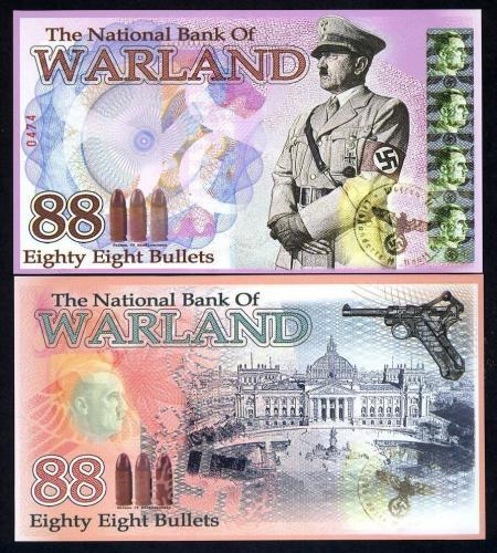 88 Bullets,Warland 2014, Polymer