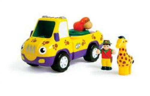 Alfie's Animal Adventure Toy With Truck