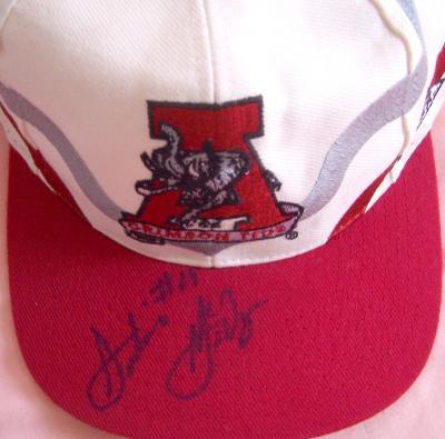 Antonio McDyess autographed Alabama cap or hat