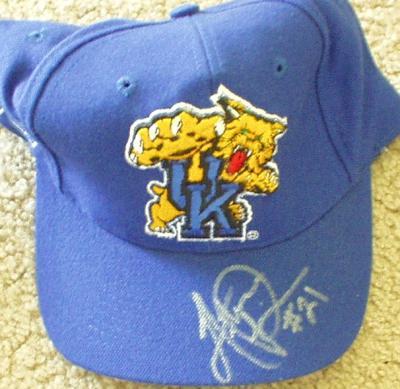 Artose Pinner autographed Kentucky Wildcats cap