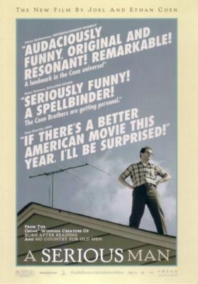 A Serious Man movie promo postcard (Coen Brothers)