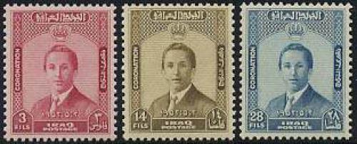 Coronation 3v; Year: 1953