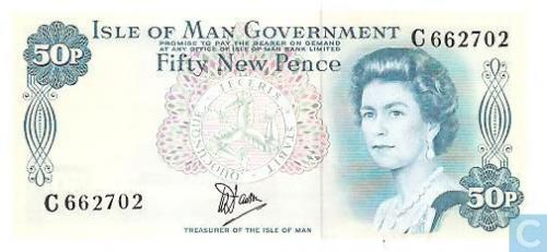 Isle of Man 50 new pence