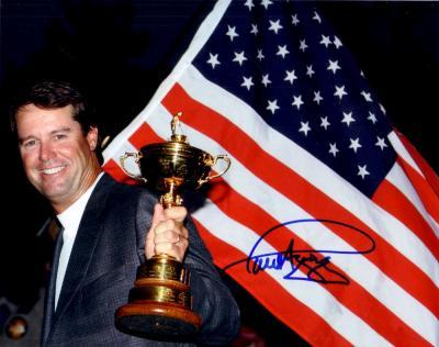 Paul Azinger autographed 2008 Ryder Cup 8x10 photo
