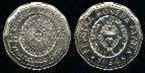 25 Pesos; Year: 1964-1968; (km 61); 1ER MONEDA PATRIA SOL